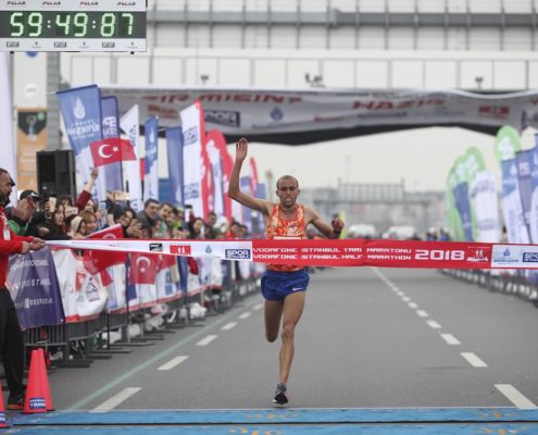 Personalized Photos, digital souvenirs, at the Vodafone Istanbul Half Marathon